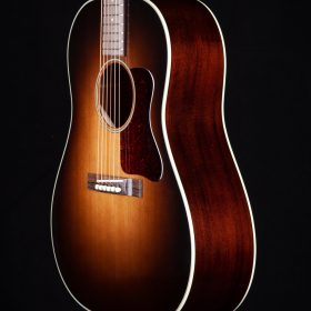 Dark Brown Guitar with Cherry Pick Guard & Indian Rosewood Body