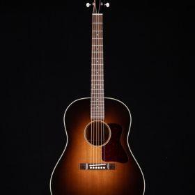 Dark Brown Ombre Guitar Body With Black Head