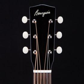 Solid Black Guitar Head