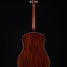 Cherry Redwood Guitar Body With White Outline