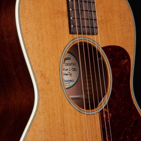 Blonde Guitar With Cherry Pick Guard & KOA Body