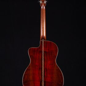 Cherry Cocobolo Guitar Body With KOA Neck