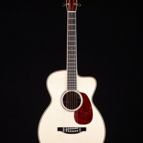 Blonde Guitar With Cherry Pick Guard