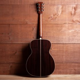 Cherry Guitar Body With Dark Stripes