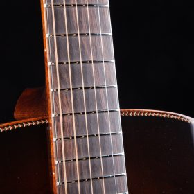 Gold Frets Over Cherry Redwood Neck
