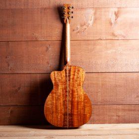 KOA Guitar Body With Mahogany Neck