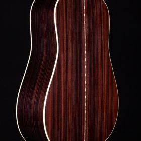 Cherry Guitar Body With Dark Stripes