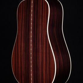 Cherry Guitar With Dark Stripes