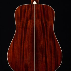 Cherry Guitar With Dark Stripes