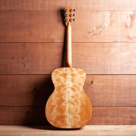 Blonde Guitar With Curly Maple Accents